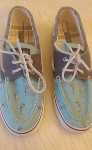 Ladies Sperry Seahorse shoes